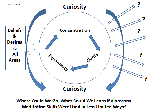 Fig 4: concentration clarity equanimity situated in curiosity