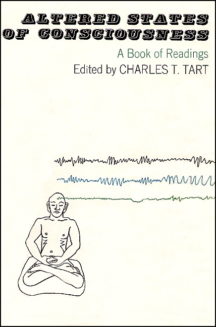 Altered States of Consciousness by Charles T. Tart (book cover front)