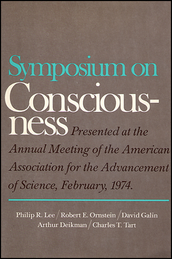Symposium on Consciousness (book cover front)