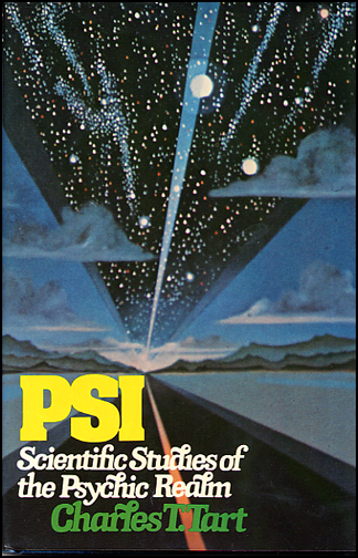 PSI: Scientific Studies of the Psychic Realm (book cover front)