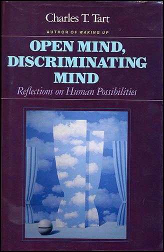 Open Mind, Discriminating Mind: Some reflections on Human Possibilities (book cover front)