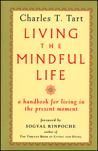 Living the Mindful Life (book cover front)